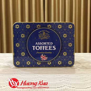 Kẹo Assorted Toffees Walker's 200g