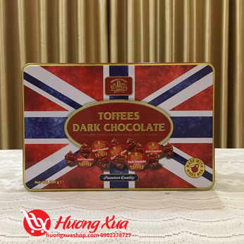 Kẹo Dark Chocolate Toffees Walker's 300g