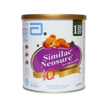 Sữa Similac Neosure Eye-Q  370G dành cho bé  sinh non, nhẹ cân