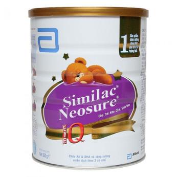 Sữa Similac Neosure Eye-Q 850G dành cho bé  sinh non, nhẹ cân