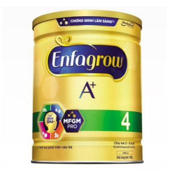Sữa Enfagrow A+4 với công thức DHA+ và MFGM Pro 900g
