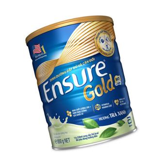 Sữa Ensure Gold hương trà xanh850G