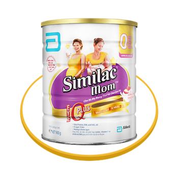 Sữa Similac Mom IQ 900G hương sữa chua dâu