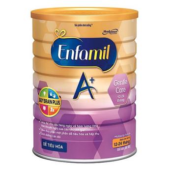 Sữa Enfamil Gentle Care A+ dành cho trẻ từ 12-24 tháng tuổi 900g