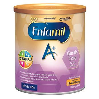 Sữa Enfamil Gentle Care A+ dành cho trẻ từ 12-24 tháng tuổi 400g