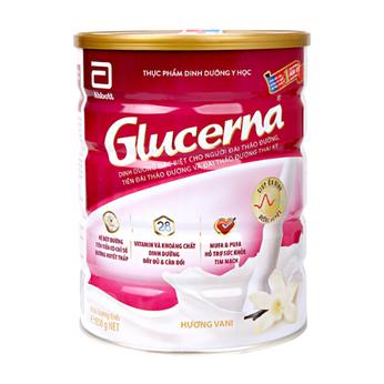 Sữa GLUCERNA dạng bột850g  cho bệnh nhân tiểu đường