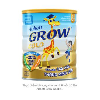 Sữa Abbott Grow Gold 6+(từ 6 tuổi trở lên) 900G
