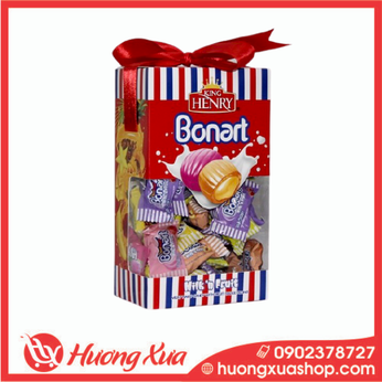 Kẹo King Henry Bonnart Assorted Candies Hộp Giấy Nơ (2) 200g