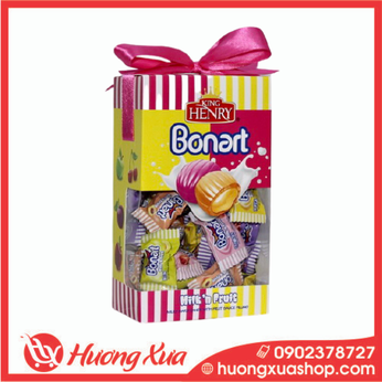 Kẹo King Henry Bonnart Assorted Candies Hộp Giấy Nơ (4) 200g