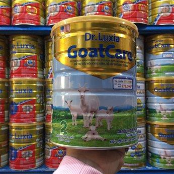 Dr-luxia Goatcare 2(từ 1-2 tuổi)800g - Hổ trợ tiêu hóa khỏe mạnh