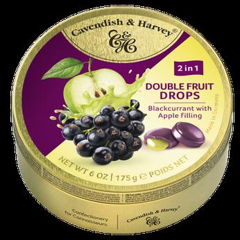 Kẹo trái cây Đức Vị quả lý nhân táo (Blackcurrant x Apple) Cavendish & Harvey 175g
