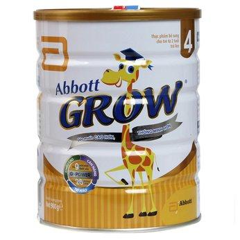 Sữa Abbott Grow 4 900g  - Hệ dưỡng chất G-Power giúp  tăng chiều cao