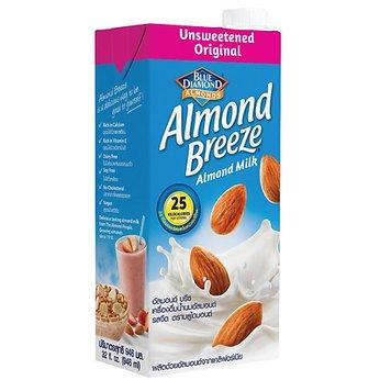 Sữa hạt hạnh nhân Almond Breeze Nguyên chất không đường hộp 946ml