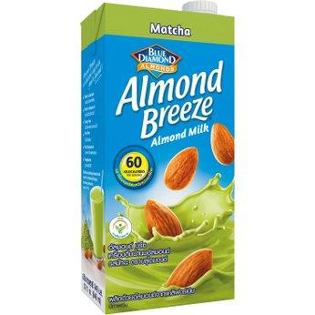Sữa hạt hạnh nhân Almond Breeze Matchahộp 946ml