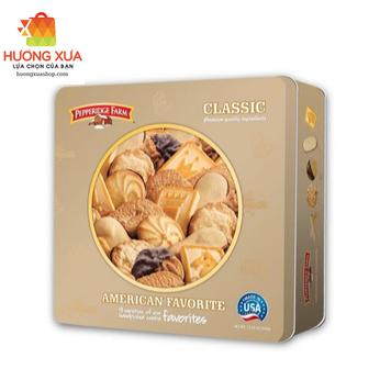 Bánh quy American Classic 376g - Tin box