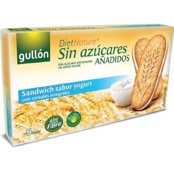 Bánh ăn kiêng không đường nhân sữa chua Gullon 220g