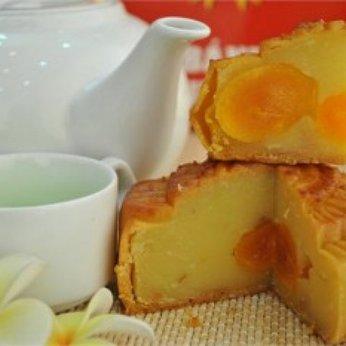 Bánh Đậu xanh sen Sầu riêng 0 trứng 300g