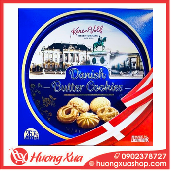 Bánh quy bơ Danish Butter Cookies Karen Volf 454g - 2