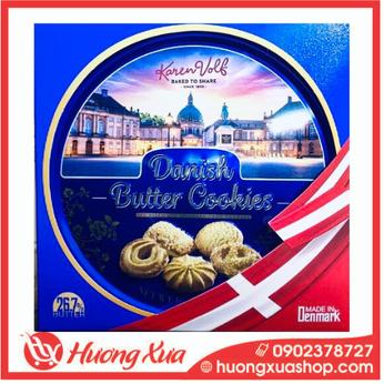 Bánh quy bơ Danish Butter Cookies Karen Volf 618g - 3