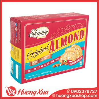 Bánh hạnh nhân giòn Skinnie - Original Almond (đỏ)