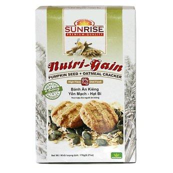 Bánh Yến mạch Hạt bí Nutri Gain 178g