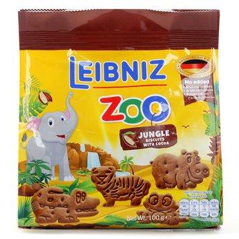 Bánh Zoo quy bơ ca cao hình thú rừng nhiệt đới 100g