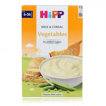 Bột HiPP rau củ quả tổng hợp và sữa dinh dưỡng
