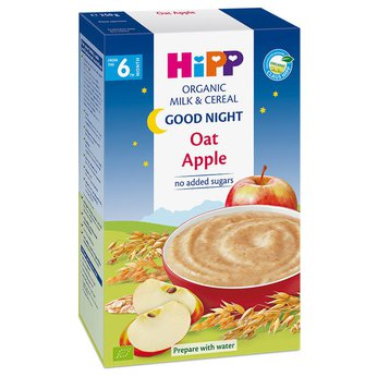 Bột sữa Hipp CNN Yến mạch, Táo tây