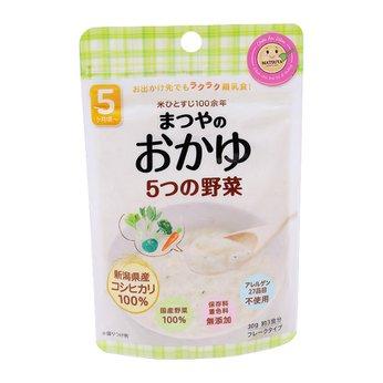 Cháo gạo Koshihikari ăn dặm với 5 vị rau Matsuya (vị rau)