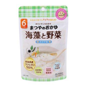 Cháo gạo Koshihikari ăn dặm với rau và rong biển Matsuya (vị sò điệp)