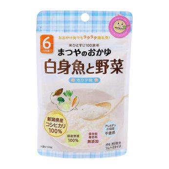 Cháo gạo Koshihikari ăn dặm với thịt trắng và rau Matsuya (vị sò điệp)