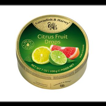 Kẹo Cirtrus Fruit Cavendish & Harvey 200g