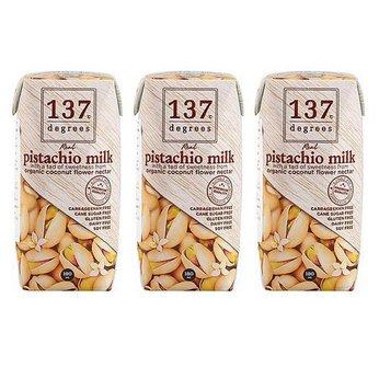 Sữa hạt dẻ nguyên chất 137 Degrees 180ml - Lốc 3 hộp