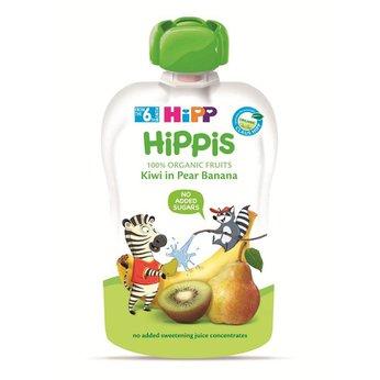 Thức ăn dặm 100% trái cây nghiền hữu cơ HiPP Organic (Kiwi, Lê, Chuối)