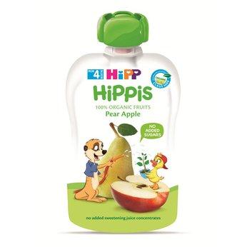 Thức ăn dặm 100% trái cây nghiền hữu cơ HiPP Organic (Lê, Táo)