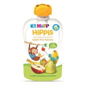 Thức ăn dặm 100% trái cây nghiền hữu cơ HiPP Organic (Táo, Lê, Chuối)