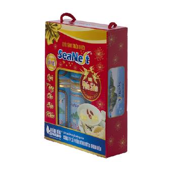 Hộp quà lon đứng SeaNest 190 ml (6lon/ hộp)
