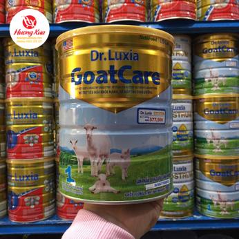 Sữa Dr-luxia Goatcare1- Hổ trợ tiêu hóa khỏe mạnh
