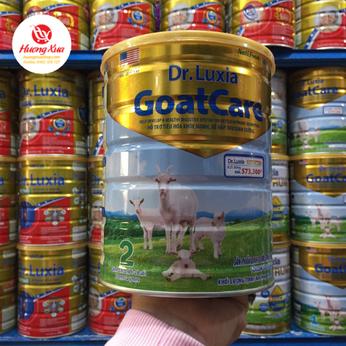 Sữa Dr-luxia Goatcare 2-Hổ trợ tiêu hóa khỏe mạnh