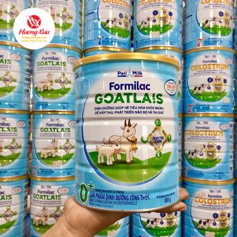 Sữa Formilac Goatlais 0+ giúp hệ tiêu hóa khỏe mạnh, dễ hấp thu