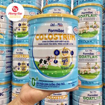 Sữa Formilac Colostrum 0+ hấp thu tốt , tăng sức đề kháng