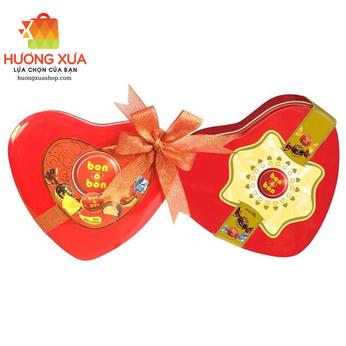 Kẹo Arcor Bon O Bon Chocolate Heart 105g