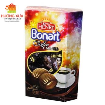 Kẹo King Henry Bonart Cà Phê Hộp Giấy 300g