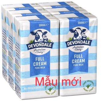 Sữa tiệt trùng Devondale nguyên kem 24h/200ml