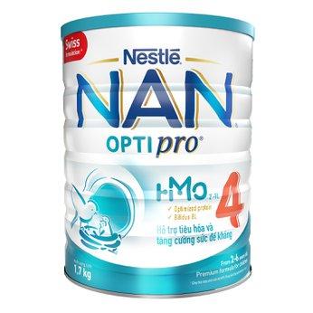 Sữa bột Nestle Nan Optipro HMO số 4 1.7kg