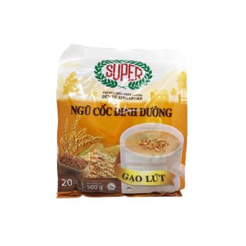 Ngũ cốc dinh dưỡng gạo lức Super 500g