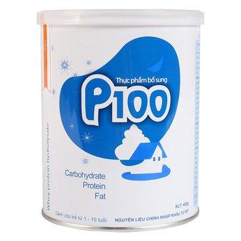Sữa P100 400g - dành cho trẻ biếng ăn suy dinh đưỡng từ 1-10 tuổi