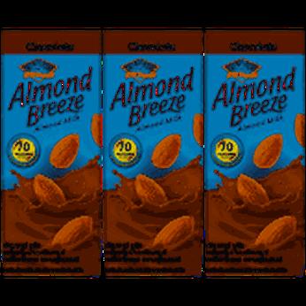 Sữa Hạt Hạnh Nhân Almond Breeze Chocolatelốc 3 hộpx180ml