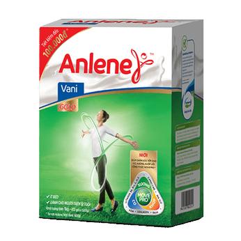 Sữa Anlene Gold MovePro hương Vani (40 tuổi Trở lên) hộp 1kg