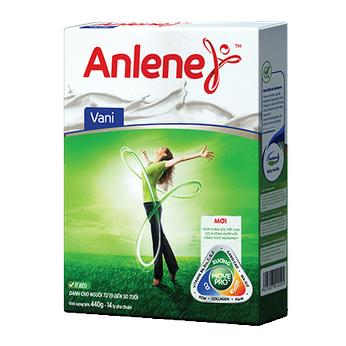 Sữa Anlene Vanila (19-45 tuổi) hộp 440g